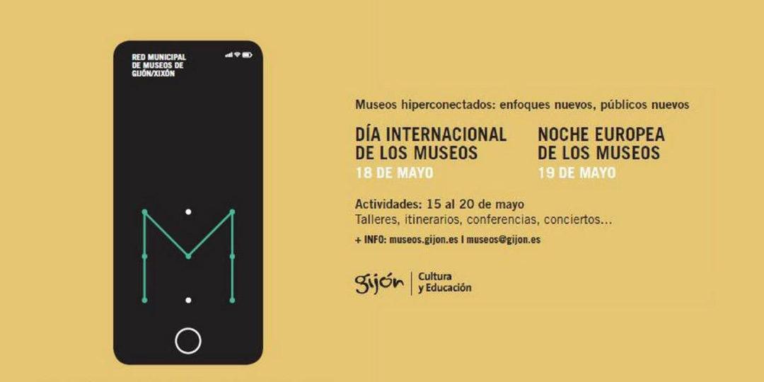 Gijón/Xixón se une a la Noche Europea de los Museos