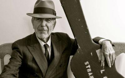 Conferencia «Leonard Cohen el Kafka del blues»